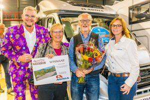 Winnaars hal(f) 12 prijzenfestival op de Kampeer & Caravan Jaarbeurs
